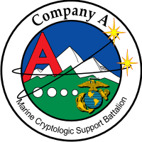 Marine Cryptologic Support Battalion Company A Decal
