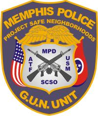 Memphis Police Department Decal