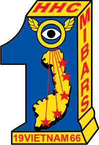 1st Military Intelligence Battalion Aerial Reconnaissance Squadron - MIBARS Decal
