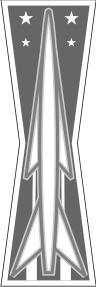 USAF Missile Maintenance Badge Basic Decal