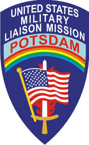U.S. Military Liaison Mission Potsdam Decal