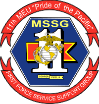 1st Force Service Support Group 11th MEU Decal