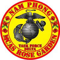 MCAS Marine Corps Air Station Rose Garden Decal