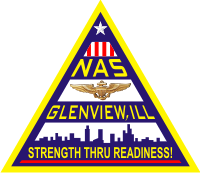 Naval Air Station Glenview Illinois Decal
