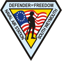 NAS South Weymouth Decal