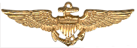 Naval Aviator Wings Gold Decal