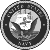 Navy Seal (Black/White) Decal