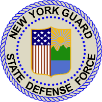New York Guard State Defense Force Decal