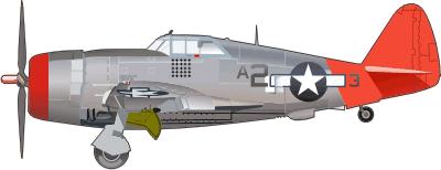 P 47 Thunderbolt Decal