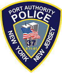 Port Authority Police 9/11 Memorial Decal