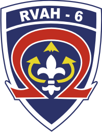 RVAH-6 Reconnaissance Attack Squadron 6 Decal