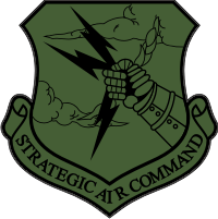 Strategic Air Command (Subdued) Decal