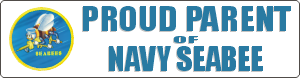 Seabee Parent Decal