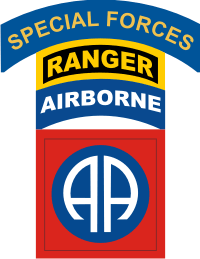 Special Forces Ranger 82nd Airborne Decal