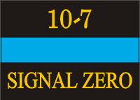 Signal Zero Decal