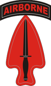 Special Operations Command Airborne Decal