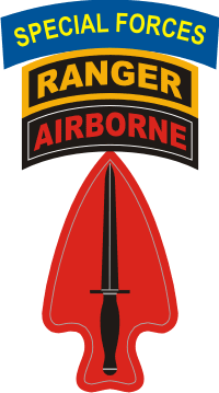 Special Operations Command ABN RNG SF Decal
