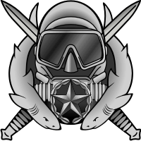 Army Special Operations Diving Supervisor Badge Decal