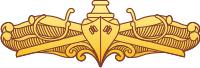 Surface Warfare Badge Officer Decal