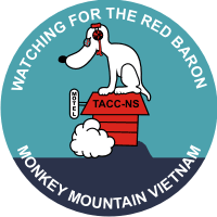 Tactical Air Command Center North Sector - Vietnam Decal