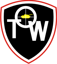 TOW Anti-Tank Missile Weapon System Decal
