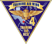 TRAWING-4 Training Air Wing 4 Decal