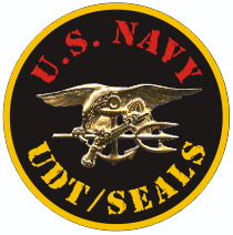 UDT Seals Gold Decal