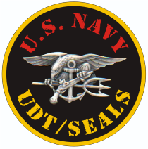UDT Seals Silver Decal