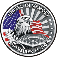 United in Memory Decal