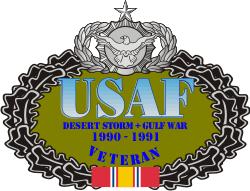 USAF Desert Storm Veteran Decal