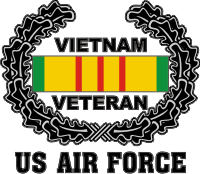 USAF Vietnam Veteran Decal
