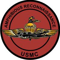 USMC Amphib Recon Decal