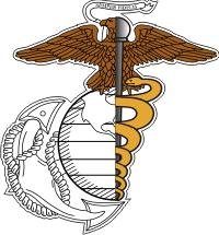 USMC Corpsman Decal