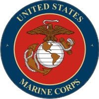 USMC Seal (4) No Rope Decal