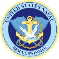 U.S. Naval Rescue Swimmer Decal