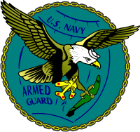 U.S. Navy Armed Guard 1942 – 1945 Decal