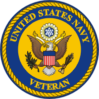 U.S. Navy Veteran Great Seal Decal