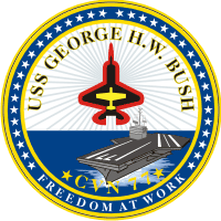 CVN-77 USS George H.W. Bush Decal