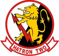 VAH-2 Heavy Attack Squadron 2 Royal Rampants Decal