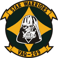 VAQ-209 Electronic Attack Squadron 209 Decal