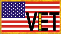 Veteran Flag Decal