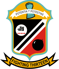 VF-13 Fighter Squadron 13 Decal