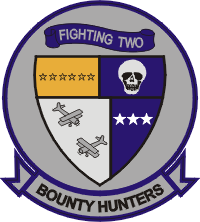 VF-2 Fighting Squadron Two Bounty Hunters Decal