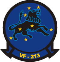 VF-213 Fighter Squadron 213 Decal
