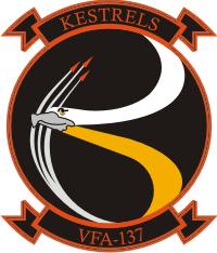 VFA-137 Strike Fighter Squadron 137 Kestrels Decal