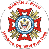 VFW Post 2666 Decal