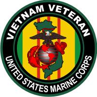 USMC Vietnam Veteran Decal