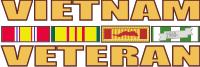 Vietnam Veteran (v2) Decal