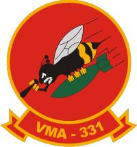 VMA-331 Marine Attack Squadron Decal