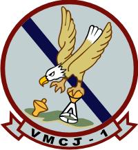 VMCJ-1 Marine Composite Recon Squadron Decal